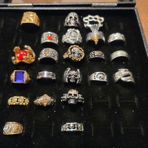 22 statement rings